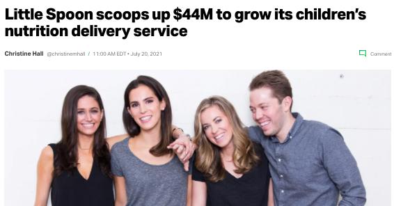 Little Spoon $44m series B announcement!
