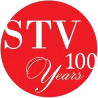 STV Inc. logo
