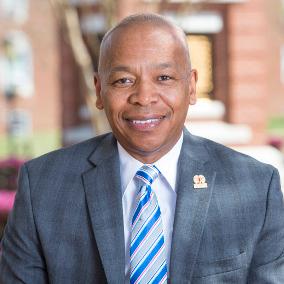 Profile photo of Elwood L. Robinson, Chancellor at Winston-Salem State University