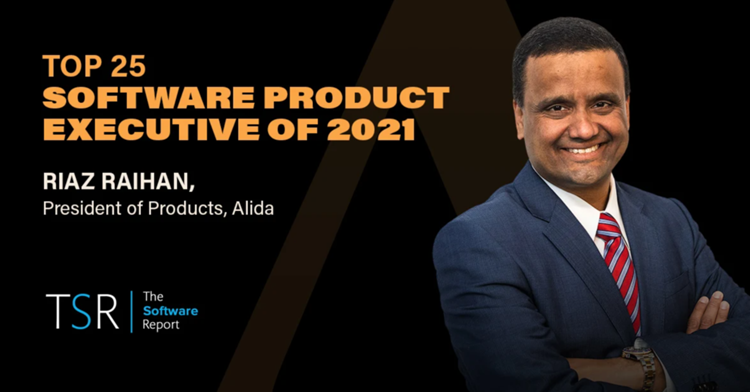 """Alida President Riaz Raihan Named A """"Top 25 Software Product Executive of 2021"""""""