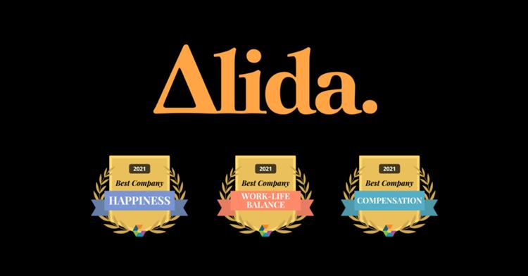 Alida Wins 2021 Comparably Awards for Best Company Happiness, Best Company Compensation and Best Company Work-Life Balance