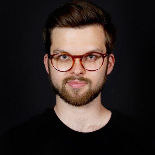 Profile photo of Maksymilian Koziol, Frontend Developer & Data Scientist at innosabi