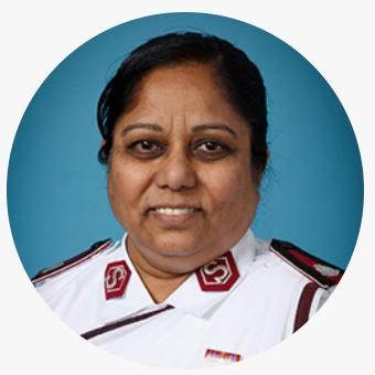Profile photo of Mani Kumari Dasari, Territory Leader, Southeast India at The Salvation Army