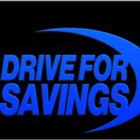 Drive For Savings logo