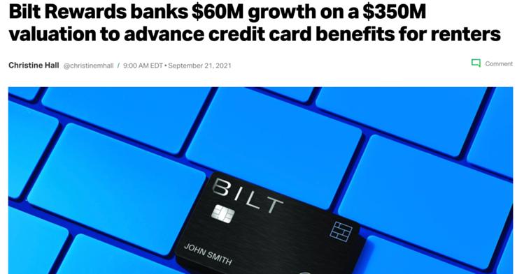 Bilt now valued at $350M