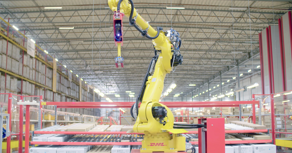 3D vision system enables DHL's e-fulfillment robot, Zivid