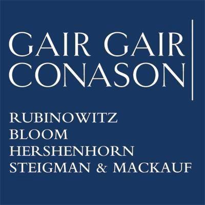 Gair, Gair, Conason, Rubinowitz,... logo