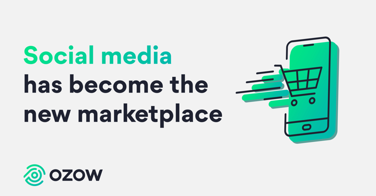 Social media has become the new marketplace