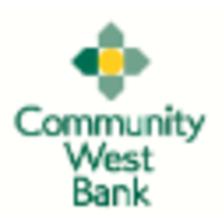 Community West Bank logo