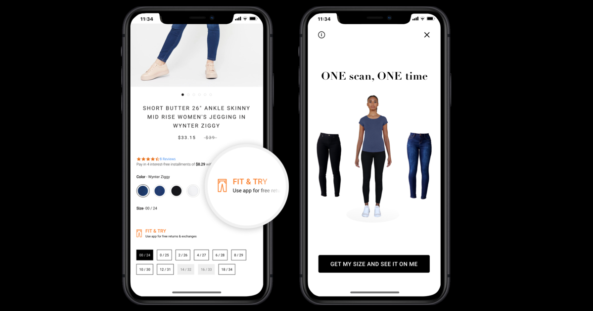 3DLOOK Launches YourFit, the First and Only Integrated Solution that Combines Virtual Try-On with Size and Fit Recommendations , 3DLOOK
