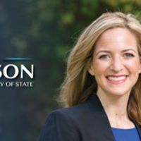 Jocelyn Benson for Michigan Secretary of State logo