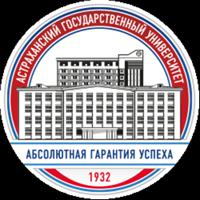 Astrakhan State University logo