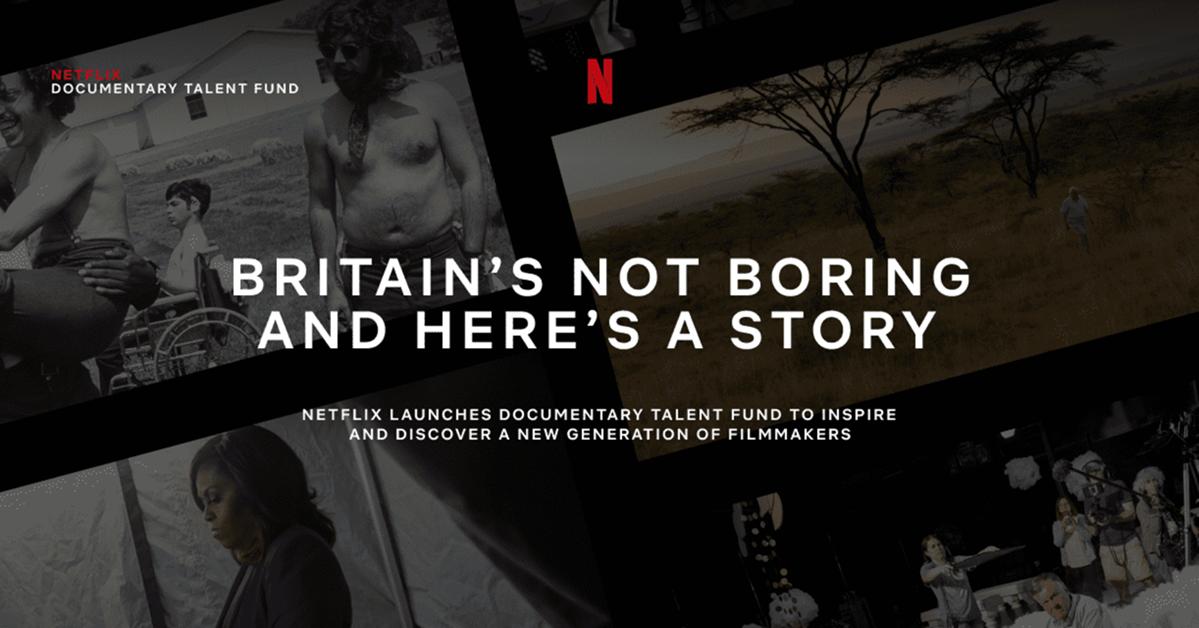 Netflix Announces Recipients of Its Inaugural UK Documentary Talent Fund, Netflix