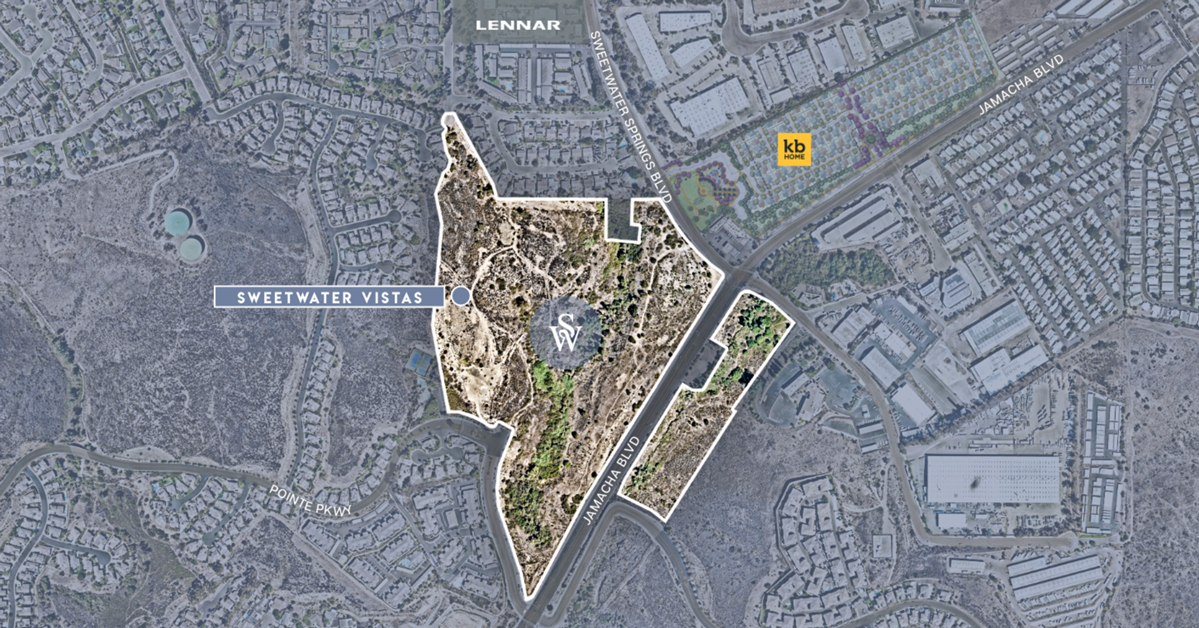 KB Home to Build Mix of 203 Single-Family Townhomes in Spring Valley, CA, Province West