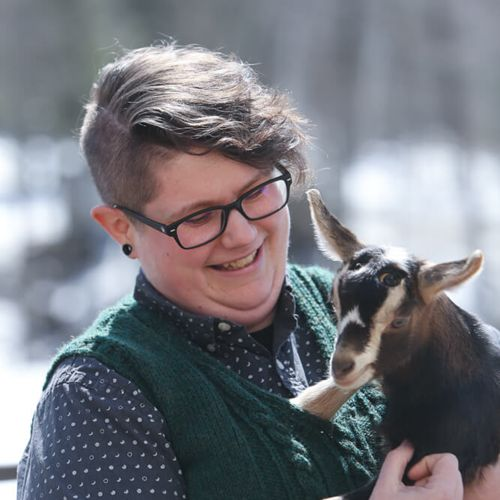 Profile photo of Sam Green, Assistant Admissions Director at Farm & Wilderness Foundation
