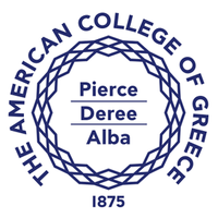 The American College of Greece logo