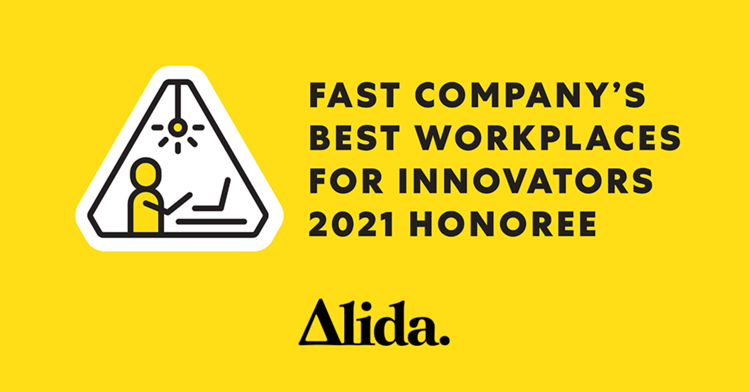 Alida Ranks on Fast Company's Third Annual List of the 100 Best Workplaces for Innovators