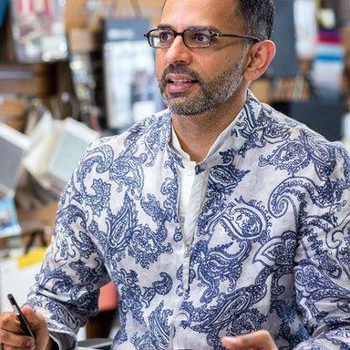 Profile photo of Ramesh Subramaniam, Design Director, International at M. Moser Associates