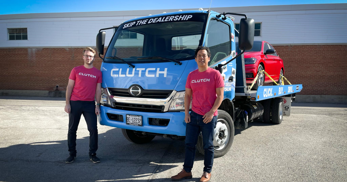 Clutch raises $60 million to bring the best car buying experience to Canadians, Clutch