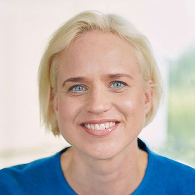 Profile photo of Anne-Sofie Lagander, SVP Global Talent and People at Ultraleap