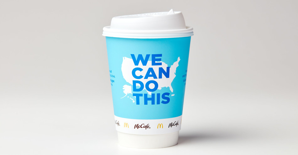 McDonald's partners with the Biden Administration to provide trusted, independent information on COVID-19 vaccines, McDonald's