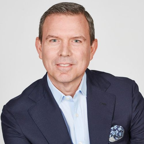 Profile photo of Geoff Morrell, EVP, Communications and Advocacy at BP