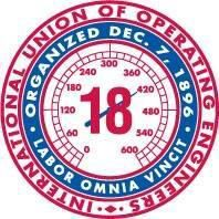 LOCAL 18 INTERNATIONAL UNION OF OPERATING ENGINEERS logo