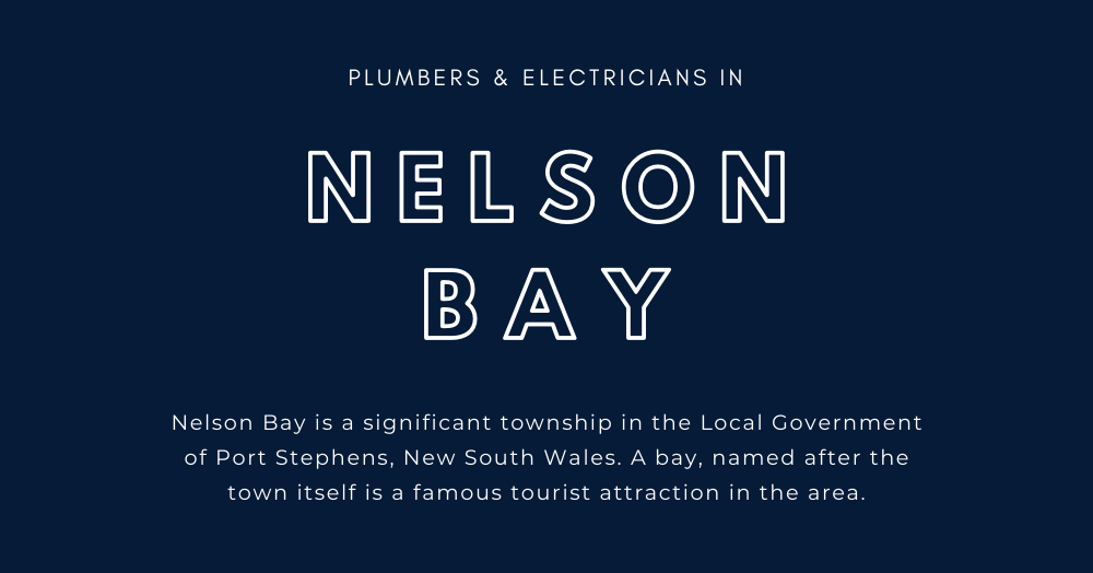 Plumber in Nelson Bay, Plumbing & Electrical Doctor