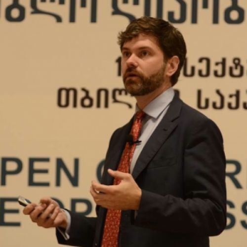 Profile photo of Chris Doten, Chief Innovation Officer at National Democratic Institute