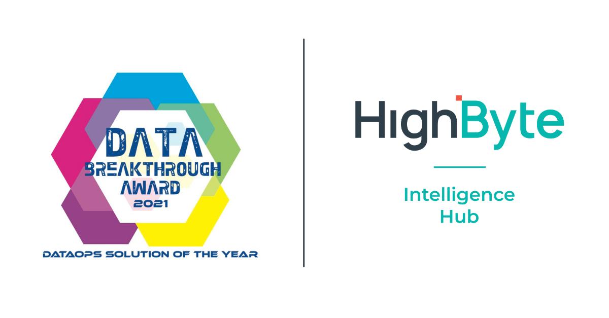 HighByte Intelligence Hub Named DataOps Solution of the Year, HighByte