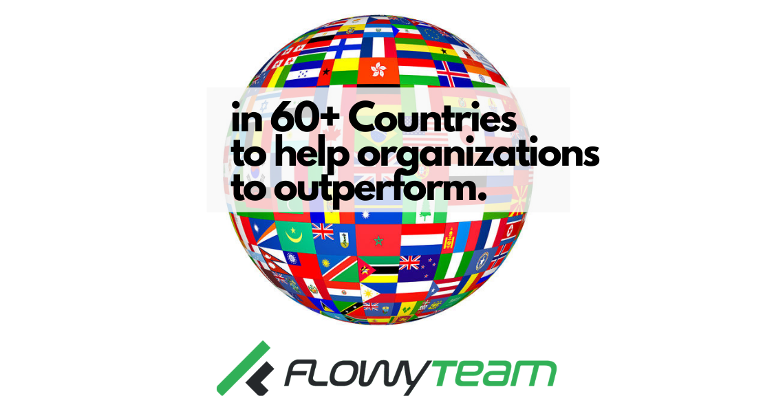 FlowyTeam is now in over 60 countries, FlowyTeam