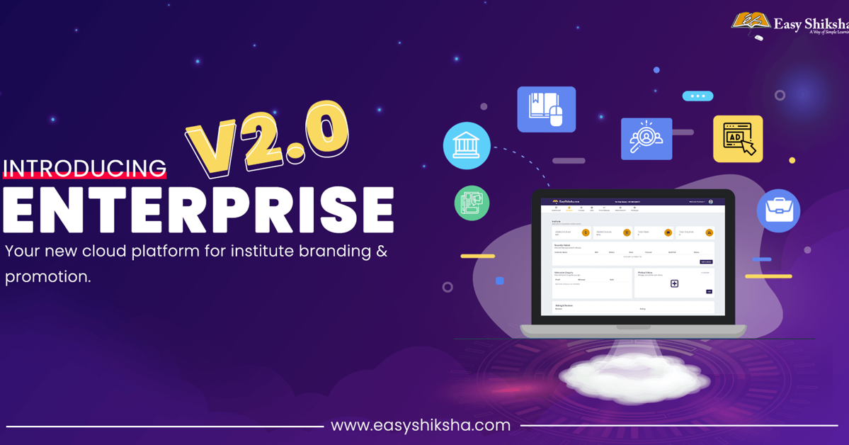 EasyShiksha Launches Enterprise version 2.0 for new millennial approach and requirements, HawksCode