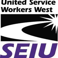 SEIU United Service Workers West logo