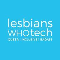 Lesbians Who Tech & Allies logo