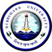 Dibrugarh University logo
