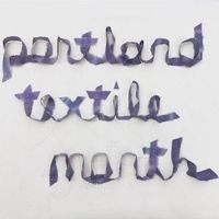 Portland Textile Month logo