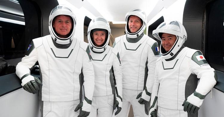 NASA's SpaceX Crew-2 Astronauts Headed to International Space Station, NASA
