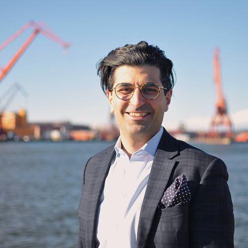 Profile photo of Sam Manaberi, Founder & CEO at TRINE