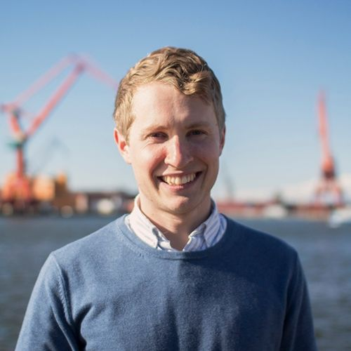 Profile photo of Christoffer Falsen, Founder & CFO at TRINE