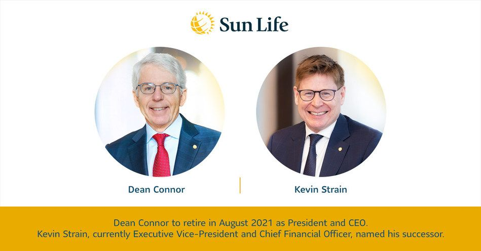 Sun Life President and CEO Dean Connor Announces Intention to Retire after Distinguished Career, Sun Life Financial
