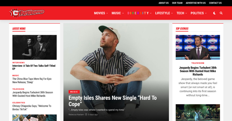 Introducing the new PopWrapped.com
