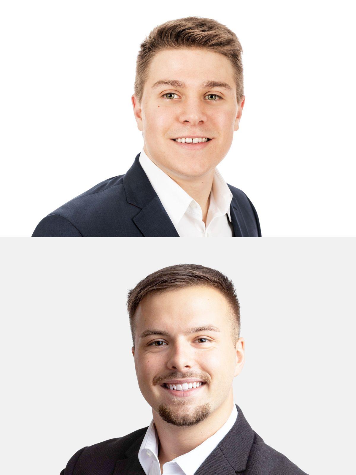 AutoCom Associates awards internships to Christoph Neunsinger and Philipp Weber, AutoCom Associates