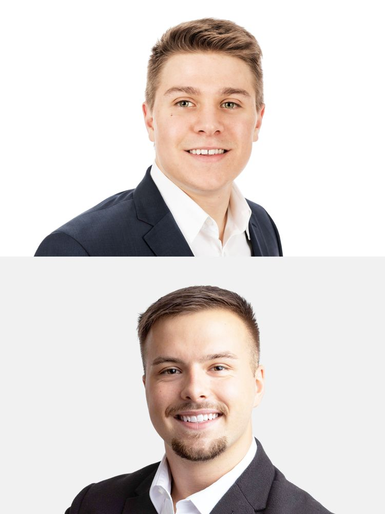 AutoCom Associates awards internships to Christoph Neunsinger and Philipp Weber