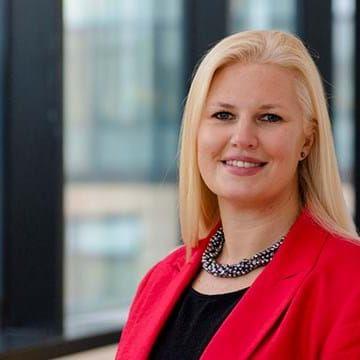 Profile photo of Louise Noble, SVP, Global Head of Marketing at Wood Mackenzie