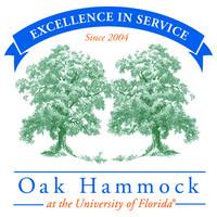Oak Hammock at the University of... logo