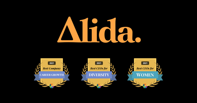 Alida Wins 2021 Comparably Awards for Best CEO for Women, Best CEO for Diversity and Best Company for Career Growth