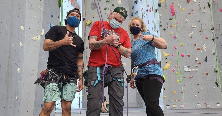 Marine Veteran Reaches New Heights With MoonRocks Bouldering