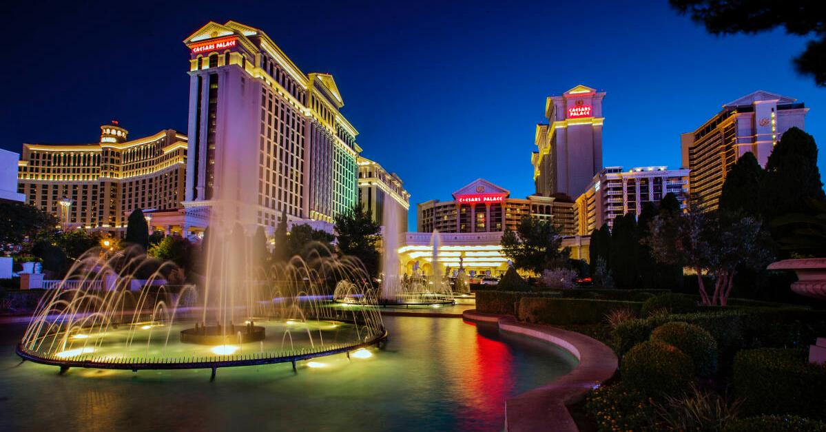 Caesars Entertainment Returns to Full Capacity Gaming Floors at all Las Vegas Resorts, Caesars Entertainment